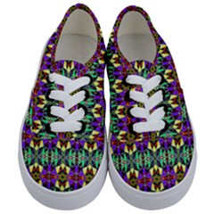 Artwork By Patrick Pattern 24 Kids  Classic Low Top Sneakers