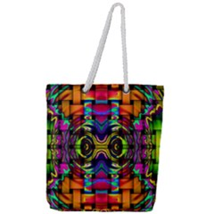 Full Print Rope Handle Tote (large) by ArtworkByPatrick