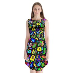 Artwork By Patrick Pattern 30 Sleeveless Chiffon Dress