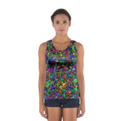 Artwork By Patrick Pattern 31 1 Sport Tank Top