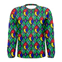Colorful 4 Men s Long Sleeve Tee
