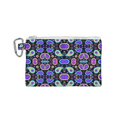 Colorful 5 Canvas Cosmetic Bag (small) by ArtworkByPatrick