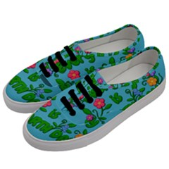 Earth Day Men s Classic Low Top Sneakers by Valentinaart