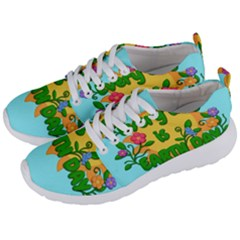 Earth Day Men s Lightweight Sports Shoes by Valentinaart