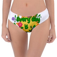 Earth Day Reversible Classic Bikini Bottoms by Valentinaart