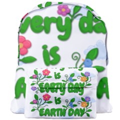 Earth Day Giant Full Print Backpack by Valentinaart