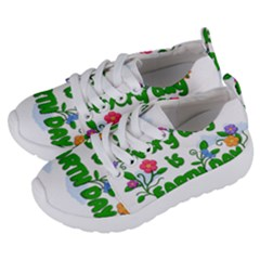 Earth Day Kids  Lightweight Sports Shoes by Valentinaart