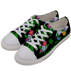 Earth Day Women s Low Top Canvas Sneakers by Valentinaart