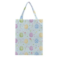 Easter Pattern Classic Tote Bag by Valentinaart