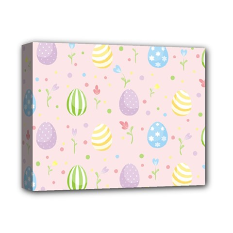 Easter Pattern Deluxe Canvas 14  X 11  by Valentinaart
