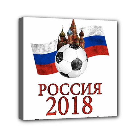 Russia Football World Cup Canvas Travel Bag by Valentinaart