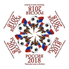 Russia Football World Cup Mini Folding Umbrellas by Valentinaart