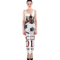 Russia Football World Cup One Piece Catsuit by Valentinaart
