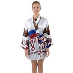 Russia Football World Cup Long Sleeve Kimono Robe
