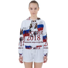 Russia Football World Cup Women s Tie Up Sweat
