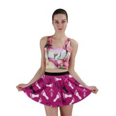 Hot Pink Mini Skirt by HASHHAB