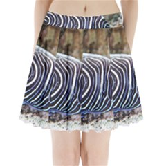 Angelfish 3 Pleated Mini Skirt by trendistuff