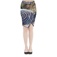 Angelfish 3 Midi Wrap Pencil Skirt