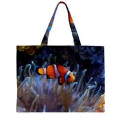 Clownfish 2 Zipper Mini Tote Bag by trendistuff