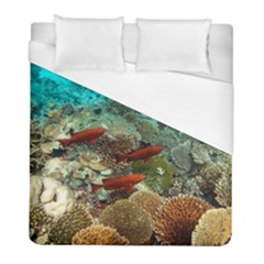 Coral Garden 1 Duvet Cover (full/ Double Size) by trendistuff