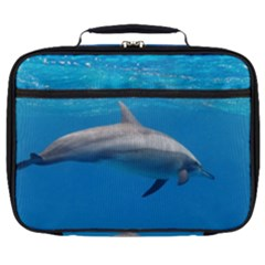 Dolphin 3 Full Print Lunch Bag