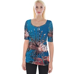 Lionfish 1 Wide Neckline Tee