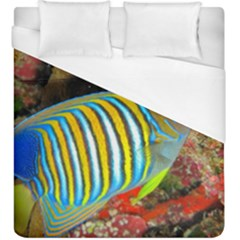 Regal Angelfish Duvet Cover (king Size)