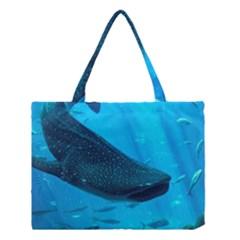Whale Shark 2 Medium Tote Bag by trendistuff