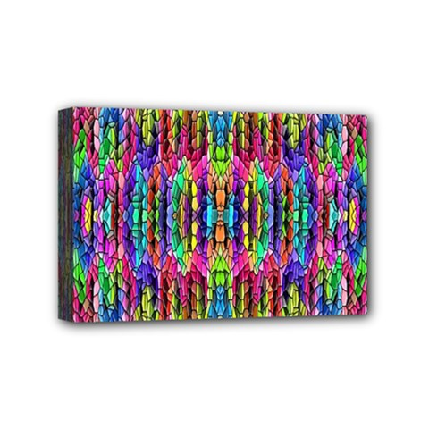Colorful 7 Mini Canvas 6  X 4  by ArtworkByPatrick