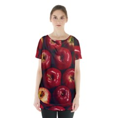 Apples 2 Skirt Hem Sports Top