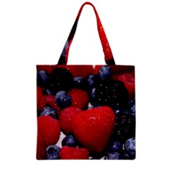 Berries 1 Grocery Tote Bag by trendistuff