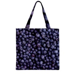 Blueberries 3 Grocery Tote Bag by trendistuff
