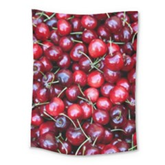 Cherries 1 Medium Tapestry by trendistuff