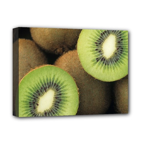 Kiwi 2 Deluxe Canvas 16  X 12   by trendistuff
