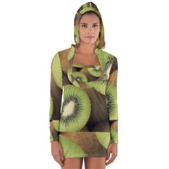 Kiwi 2 Long Sleeve Hooded T Shirt by trendistuff