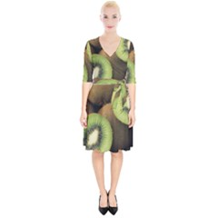 Kiwi 2 Wrap Up Cocktail Dress