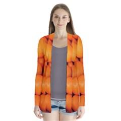 Kumquat 2 Drape Collar Cardigan