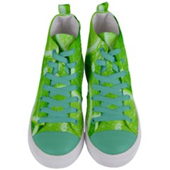 Limes 2 Women s Mid Top Canvas Sneakers