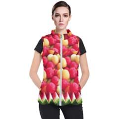 Melon Balls Women s Puffer Vest