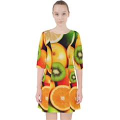 Mixed Fruit 1 Pocket Dress by trendistuff