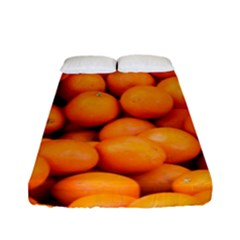 Oranges 3 Fitted Sheet (full/ Double Size) by trendistuff