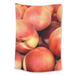 Peaches 1 Large Tapestry by trendistuff