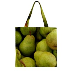 Pears 1 Zipper Grocery Tote Bag