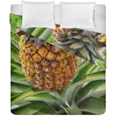 Pineapple 2 Duvet Cover Double Side (california King Size) by trendistuff