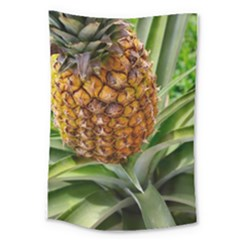 Pineapple 2 Large Tapestry by trendistuff