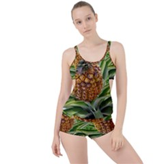 Pineapple 2 Boyleg Tankini Set  by trendistuff
