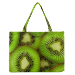 Kiwi 1 Zipper Medium Tote Bag by trendistuff