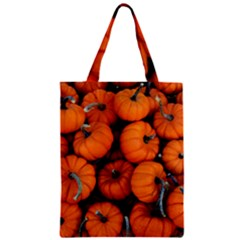 Pumpkins 2 Zipper Classic Tote Bag by trendistuff