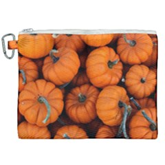 Pumpkins 2 Canvas Cosmetic Bag (xxl) by trendistuff