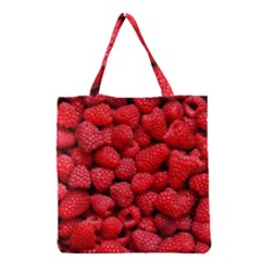 Raspberries 2 Grocery Tote Bag by trendistuff